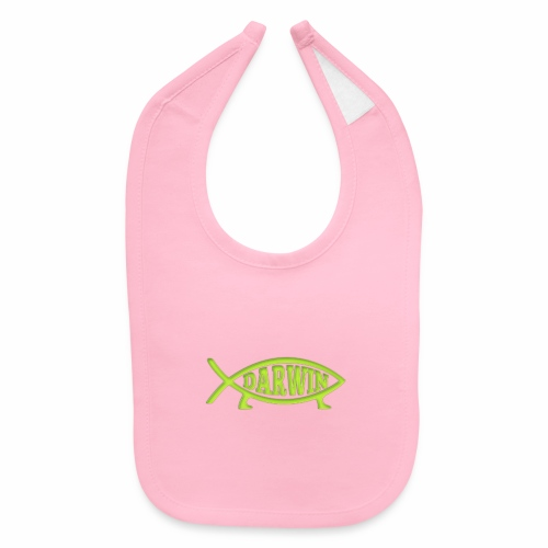 Darwin Fish - Green - Baby Bib