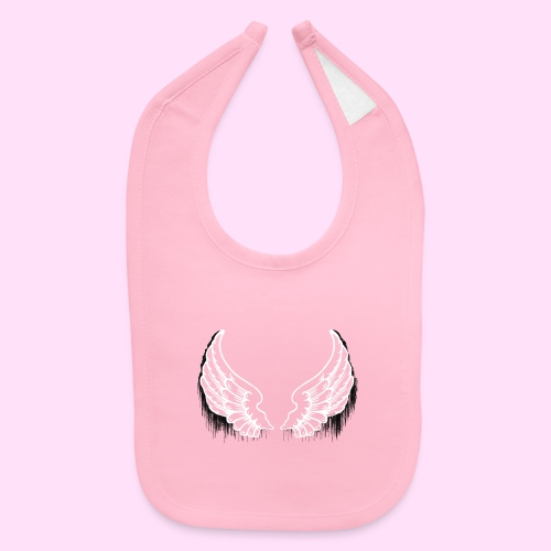 Dark drip wings - Baby Bib
