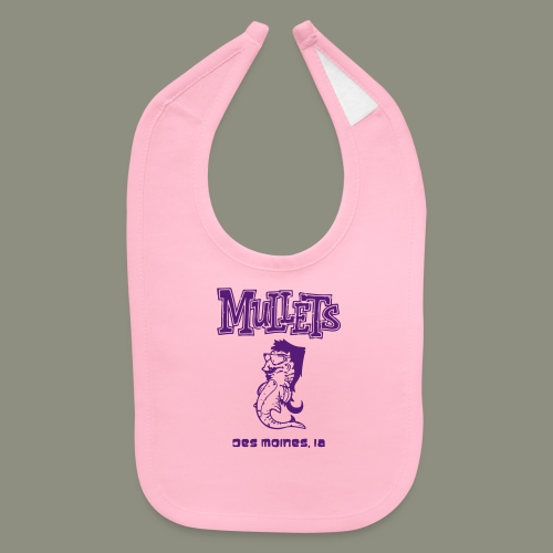 Mullets Color Series - Baby Bib