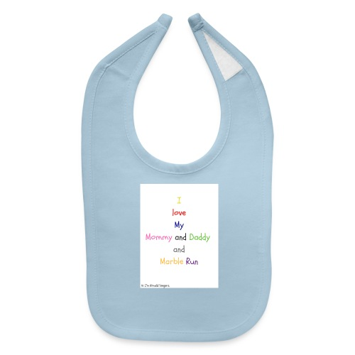 Hi I'm Ronald Seegers Collection-What I love - Baby Bib