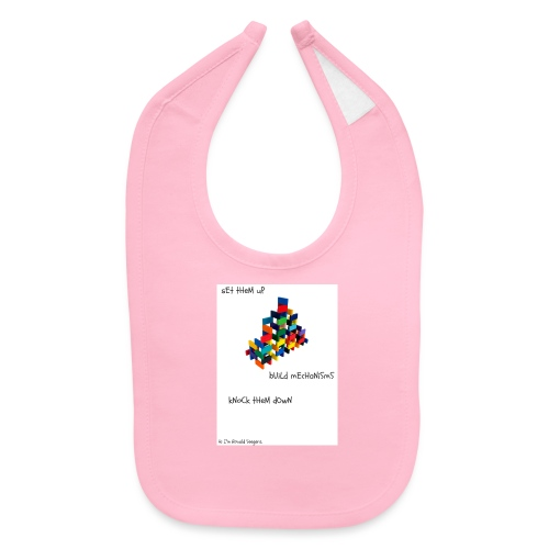 Hi I'm Ronald Seegers Collection-dominoes - Baby Bib