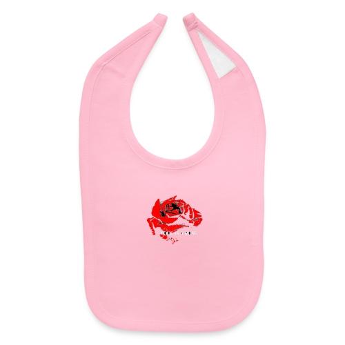 LOVE IS A rose - Baby Bib