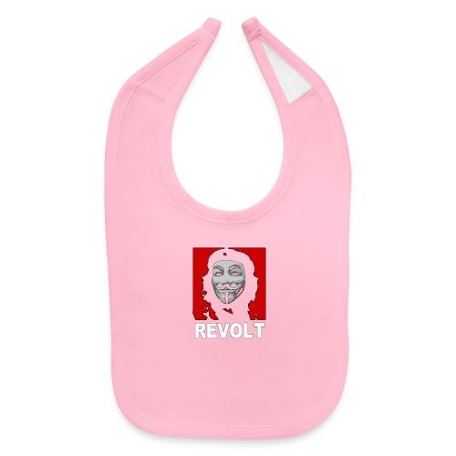 Anonymous Che Revolt Mugs & Drinkware - Baby Bib
