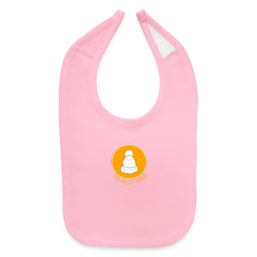 The Rusty Toque Orange Logo - Baby Bib
