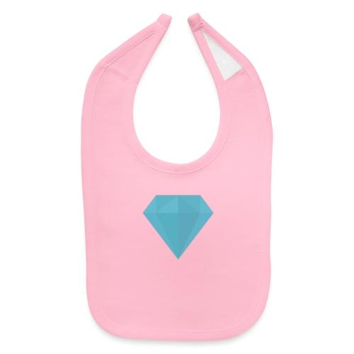 long sleeve Diamond shirt - Baby Bib