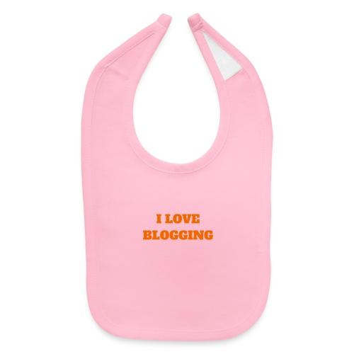 iloveblogging - Baby Bib