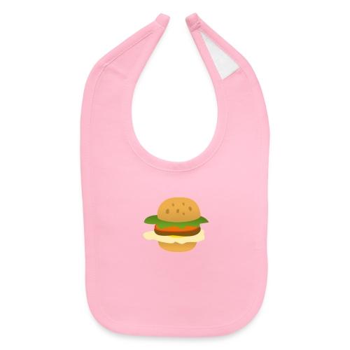 Cheese Burgar - Baby Bib