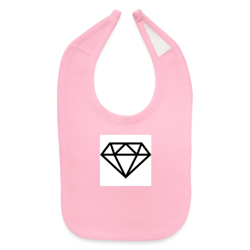 diamond outline 318 36534 - Baby Bib
