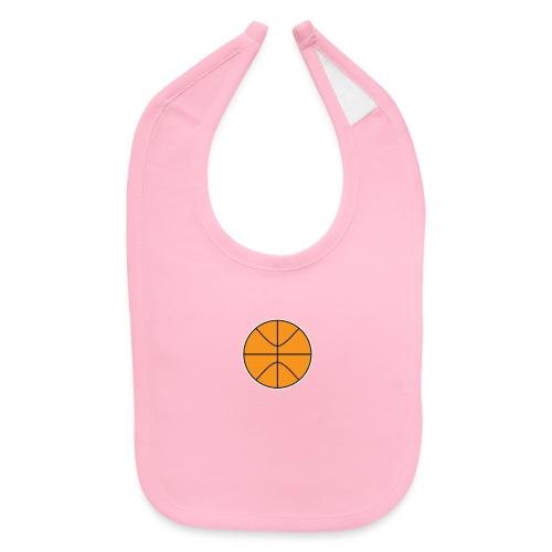Plain basketball - Baby Bib