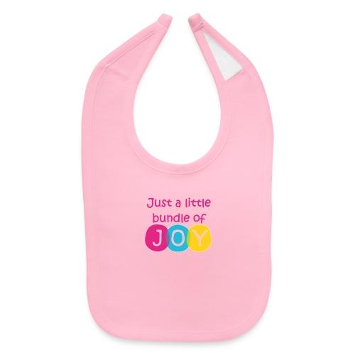 Bundle of Joy-Girl - Baby Bib