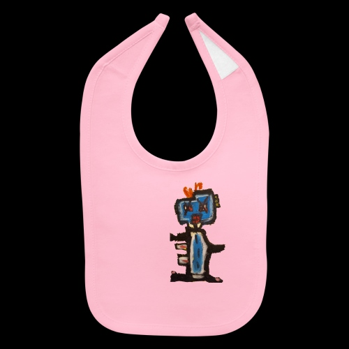 GIANT AWESOME ROBOT! - Baby Bib