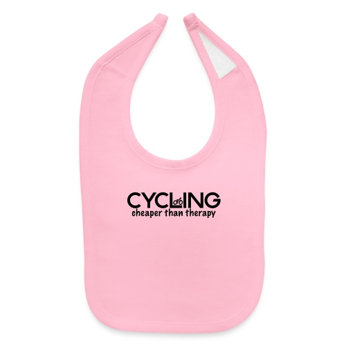 Cycling Cheaper Therapy - Baby Bib