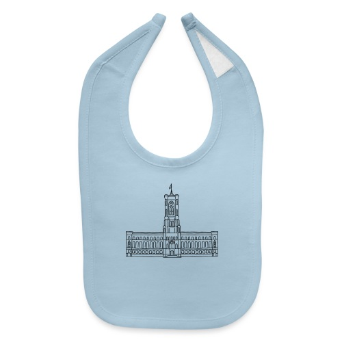 Red City Hall Berlin - Baby Bib