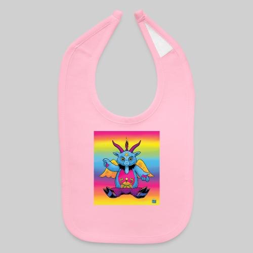 Rainbow Baphomet - Baby Bib