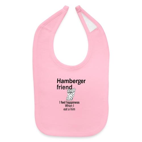 Hamberger friend - Baby Bib