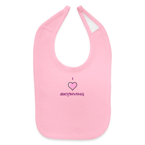 I Love Skydiving/BookSkydive/Perfect Gift - Baby Bib