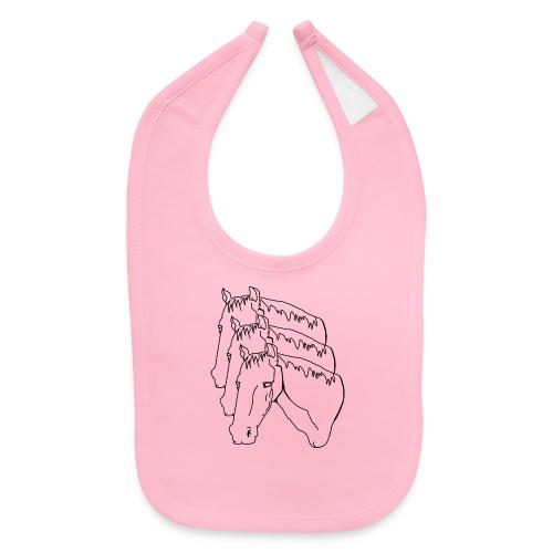 horsey pants - Baby Bib