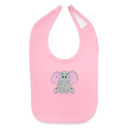 Cute Baby Elephant - Baby Bib