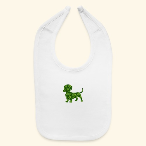 PUFFY DOG - PRESENT FOR SMOKING DOGLOVER - Baby Bib