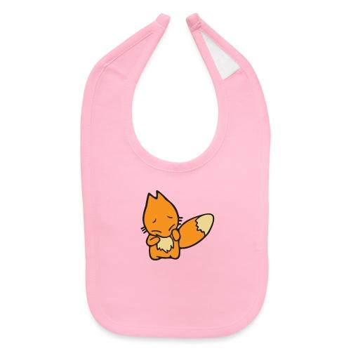 Scaredy Fox - Baby Bib
