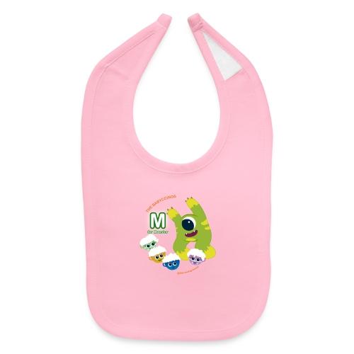 The Babyccinos M for Monster - Baby Bib