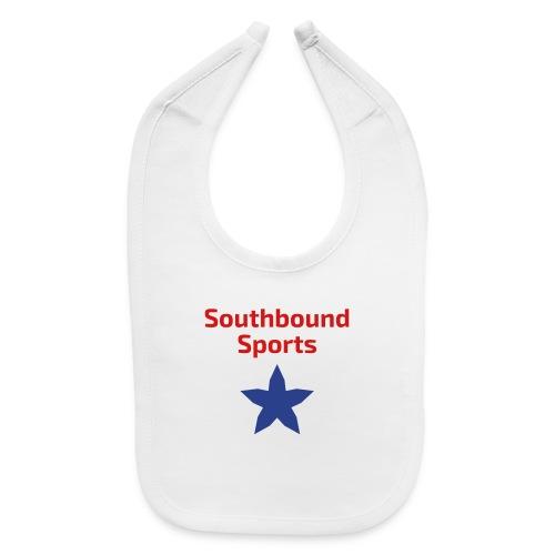 Southbound Sports Stars Logo - Baby Bib