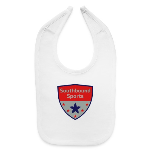 Southbound Sports Crest Logo - Baby Bib