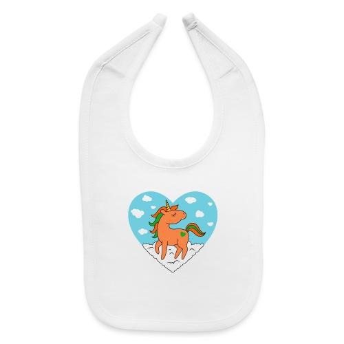 Unicorn Love - Baby Bib