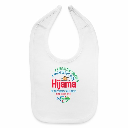 Hijama/Cupping/ Cupping therapy/ BD Health - Baby Bib