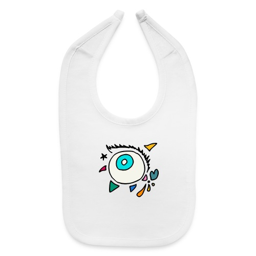 Punkodylate Eye - Baby Bib