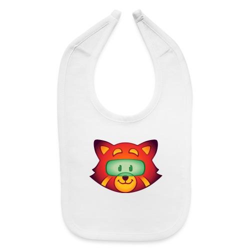 Foxr Head (no logo) - Baby Bib