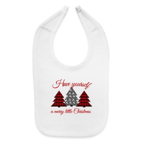 Merry Little Christmas - Baby Bib