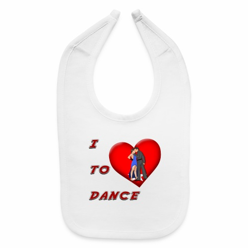 I Heart Dance - Baby Bib