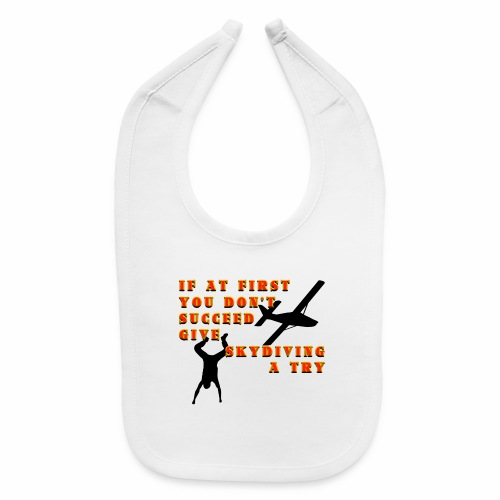 Try Skydiving - Baby Bib