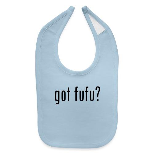 gotfufu-black - Baby Bib