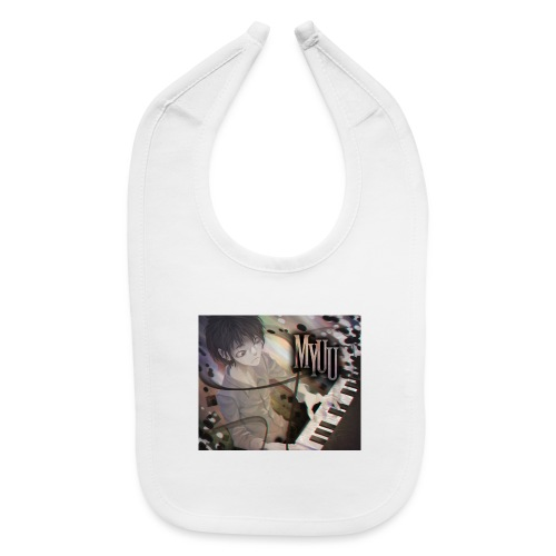 Dark Piano 1 - Baby Bib