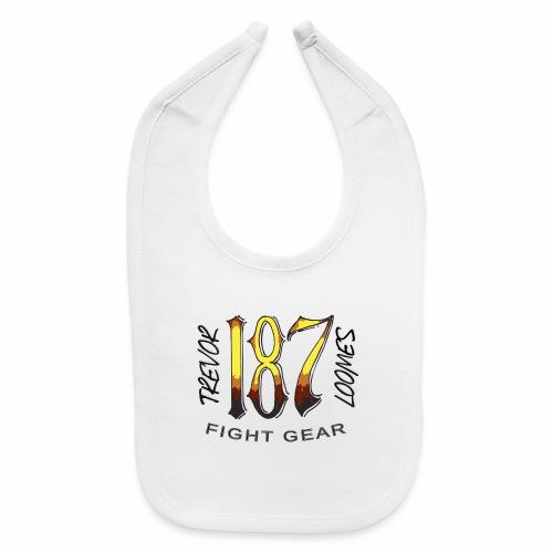 Coloured Trevor Loomes 187 Fight Gear Logo - Baby Bib