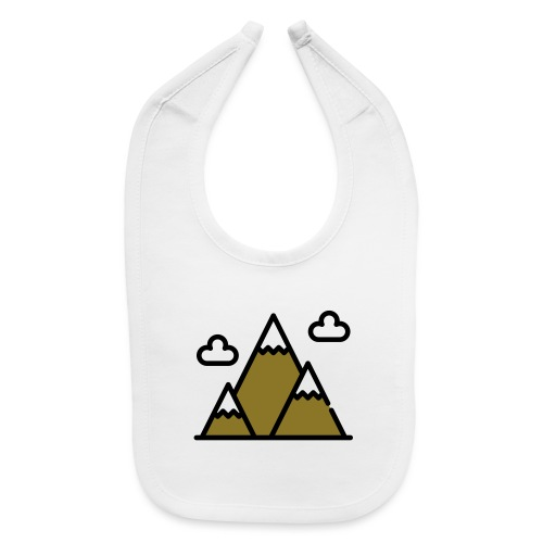 The Mountains - Baby Bib