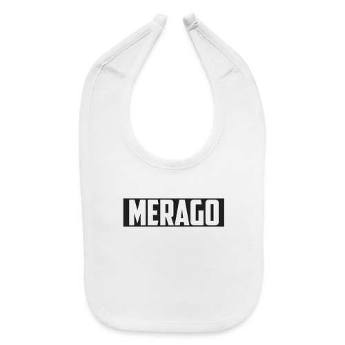 Transparent_Merago_Text - Baby Bib