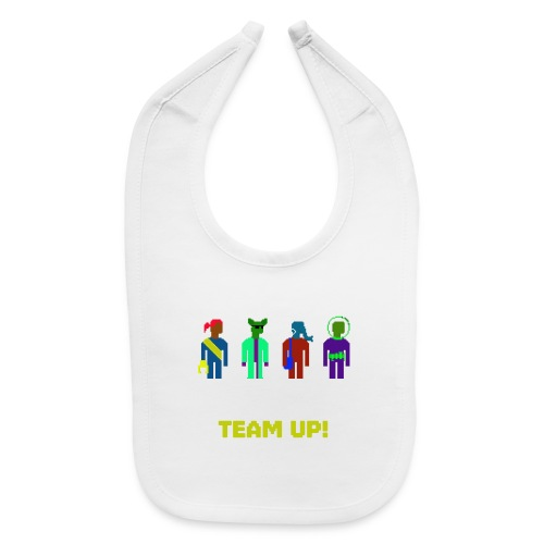 Spaceteam Team Up! - Baby Bib