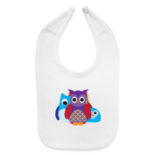 Cute Owls Eyes - Baby Bib