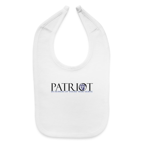 PATRIOT_USA_LOGO_2 - Baby Bib