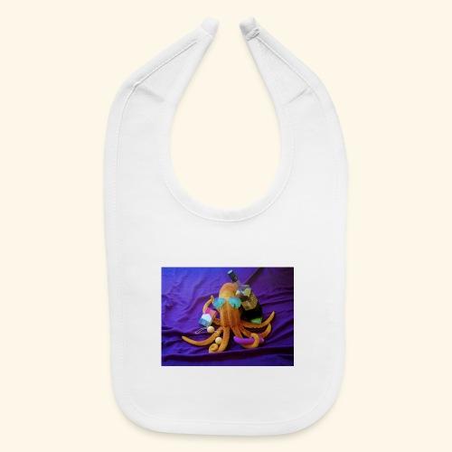 Mr squiddy - Baby Bib