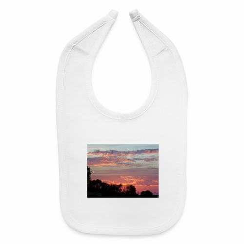 Sunset of Pastels - Baby Bib