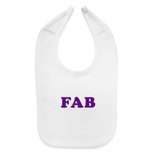 FAB Tank - Baby Bib