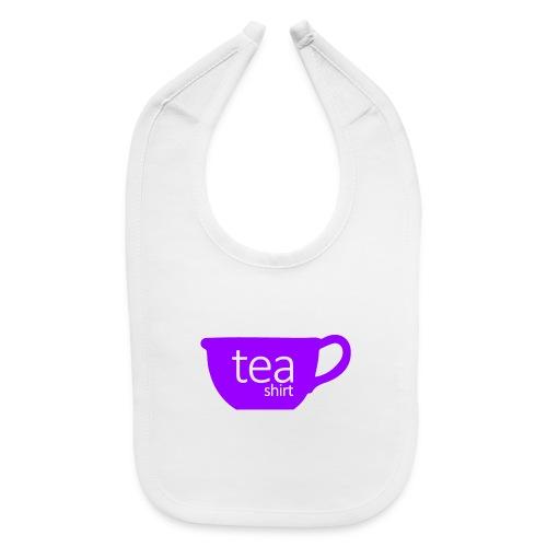 Tea Shirt Simple But Purple - Baby Bib