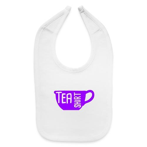 Tea Shirt Purple Power of Tea - Baby Bib