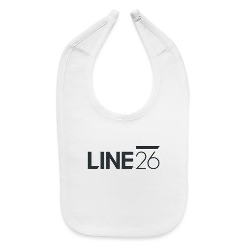 Line26 Logo (Dark Version) - Baby Bib