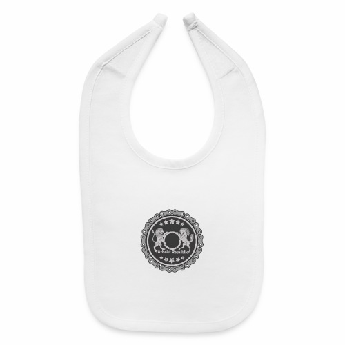 Atheist Republic Logo - Gear Circle - Baby Bib