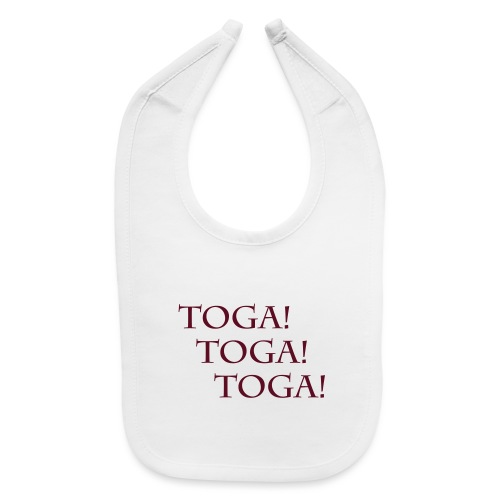 TOGA! TOGA! TOGA! Romans and Greeks Party on... - Baby Bib